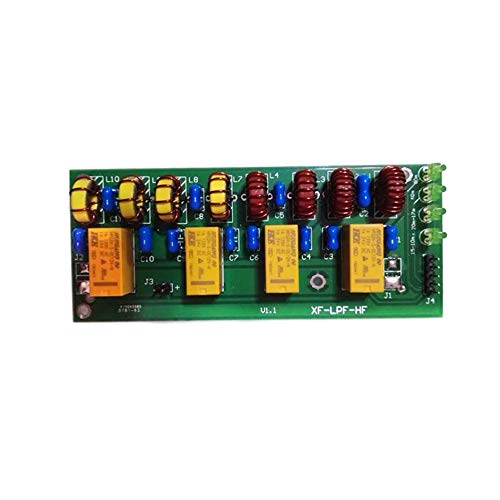 Hf Low Pass Filter - Assembled 12v 100W 3.5Mhz-30Mhz HF Power Amplifier Low Pass Filter