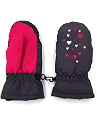 Kids Waterproof 3M Thinsulate Ski Gloves with Anti-slip Palm Age 4 - 12+