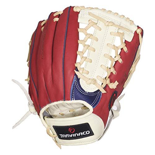 - TAMANACO ST Serie Baseball Gloves (11.75'', T Web. Navy/Scarlet/Cream)