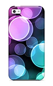 Durable Protector Case Cover With Colorful Bubbles Hot Design For Iphone 5c wangjiang maoyi