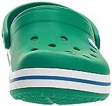 Crocs Baby Kids' Crocband Clog, Deep Green/Prep