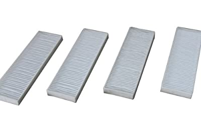 LTWHOME Hepa Filters Fit for Bissell Vacuum Style 7 9 32076 (Pack of 4)