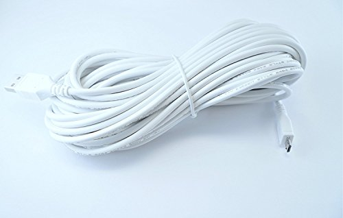 OMNIHIL Extra Long 30 FT High Speed 2.0 Micro USB Charging Cable - White from OMNIHIL