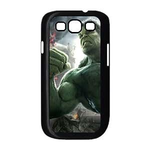 Hulk Age Of Ultron funda Samsung Galaxy S3 9300 caja funda del teléfono celular del teléfono celular negro cubierta de la caja funda EEECBCAAL04151