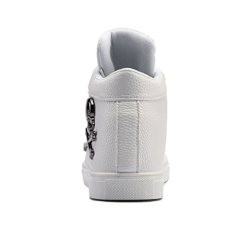 Chaussures Blanc Sport Basses Homme TQGOLD de mode Sneakers Baskets EzxAnqw8f