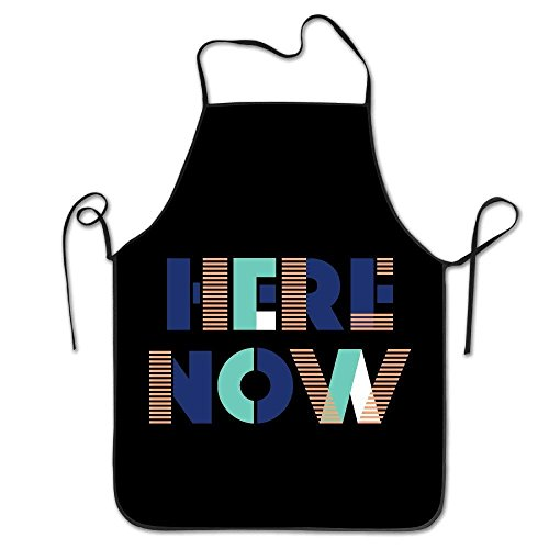 luickyw Women Bib Kitchen Apron Polyester Art Printing Bling Bling 2017 Fashion -