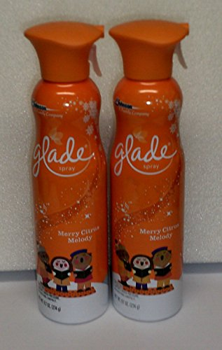 (2 Pack) Glade Spray - Limited Edition - Merry Citrus Melody - 9.7 oz each