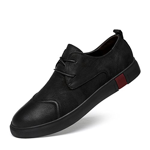 Hommes Casual Chaussures Bas-Top Sneakers Mocassins Et Slip-Ons Chaussures de Conduite Formelle Business Work Retro British Style D