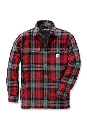 Carhartt Hubbard Shirt Jacket - Warme Flannel-Hemdjacke
