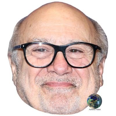 Danny DeVito Celebrity Celebrity Mask, Card Face and Fancy Dress Mask