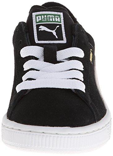 PumaSuede Jr - Zapatillas Niños-Niñas Black White
