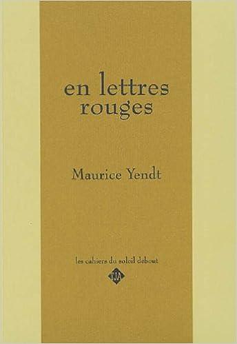 Télécharger en ligne En Lettres Rouges pdf, epub
