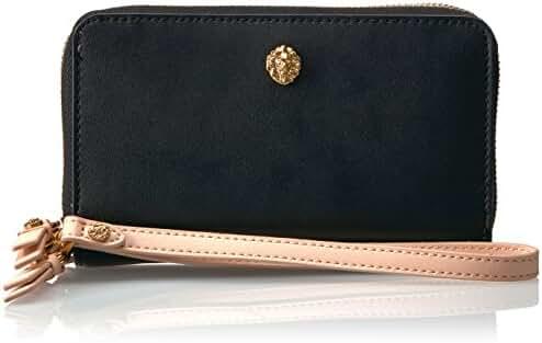 Anne Klein Double Zip Phone Wallet Wallet