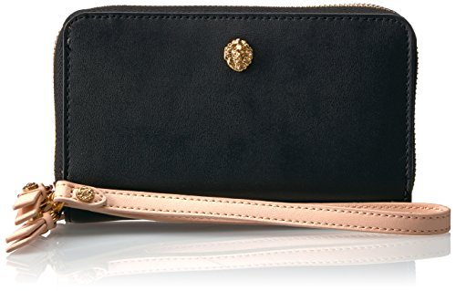 double-zip-phone-wallet-wallet-black-natural-one-size
