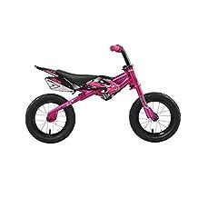 Kawasaki MX1 Running/Balance Bicycle, 12 Inch Wheels, Kid's Bike, Pink