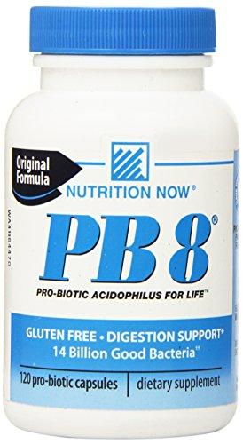 Nutrition Now Pb 8 Pro-biotiques Acidophilus - 120 Capsules (120)
