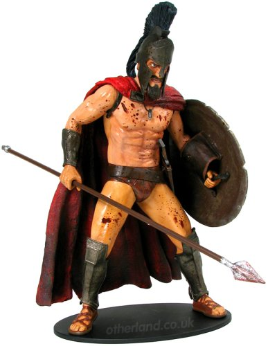 Frank Miller's 300: King Leonidas 12-Inch Action Figure With Sound