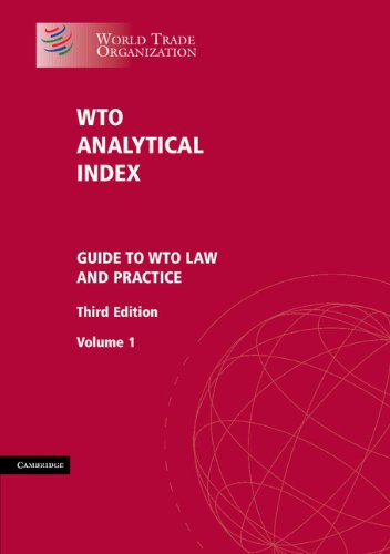 Download WTO Analytical Index 2 Volume Set Pdf