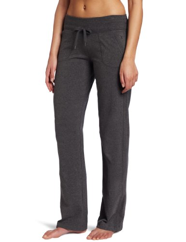 Danskin Women's Drawcord Pant, Charcoal Heather, ()