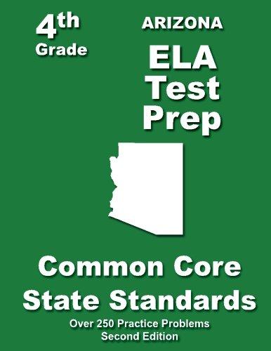 Arizona 4th Grade ELA Test Prep: Common Core Learning Standards
