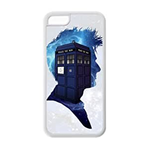 Diystore Doctor Who Sherlock IPHONE 5C Best Rubber Cover Case