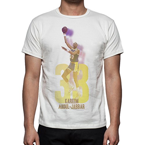 Palalula Men's Basketball Los Angeles Lakers Kareem Abdul - Doctor J Tshirt