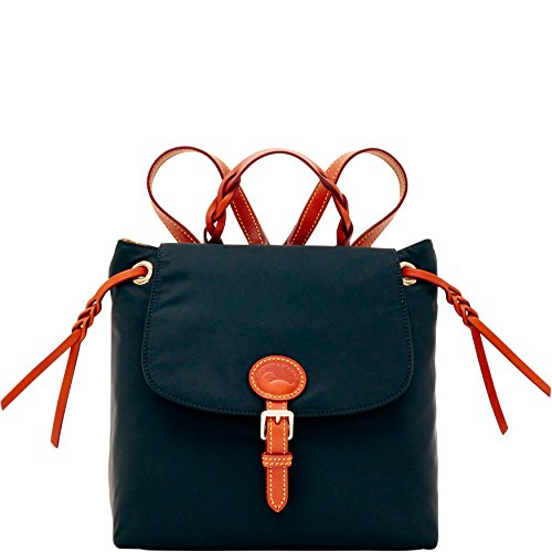 dooney-bourke-nylon-flap-backpack