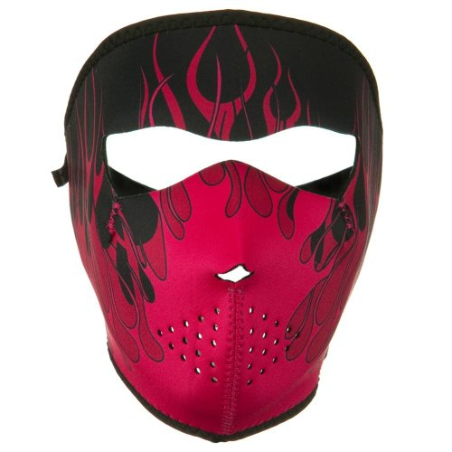 Neoprene Full Face Mask - Pink Blaze