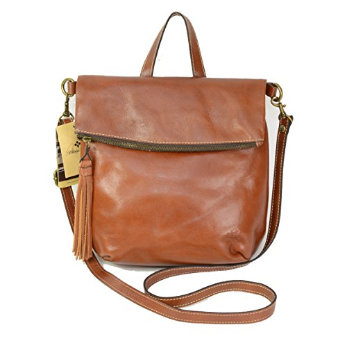 Patricia Nash Luzille Convertible Backpack, Tan