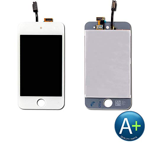 Touch Screen Digitizer and LCD Compatible with Apple iPod Touch 4 - White (A1367) - Ipod 4th Generation Screen