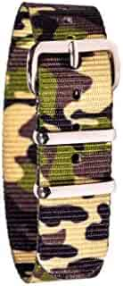 EasyRead Time Teacher WS-GC Children's Watch Strap - Green Camo