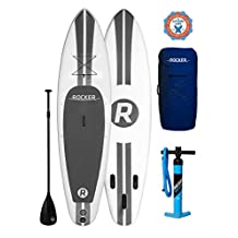 """iRocker Paddle Board 10' (6"""" Thick) Inflatable SUP Package 