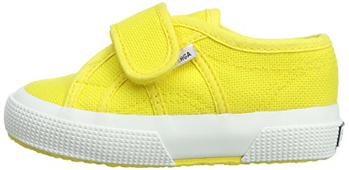 Superga 2750 Bvel - Zapatillas de lona para niño Amarillo Yellow (Sunflower) 3