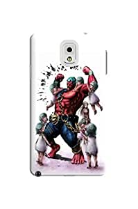 Air cushioned bumper tpu case with scratch resistant clear back panel for Samsung Galaxy note3(Street Fighter Iv) Fashion E-Mall