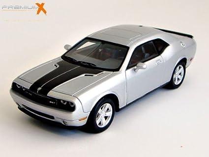 Amazon Premium X 143 Dodge Challenger Srt8 2009 Silver Toys