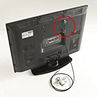 Flat Screen TV Anti-Theft Security Kit - Pack Of 2