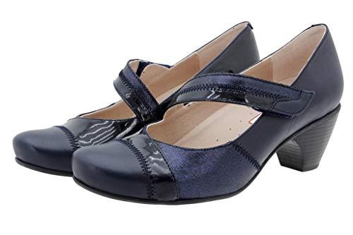 Marino Mary jane Natur Cómodo Piesanto 175403 Zapato Mujer q1TT4S