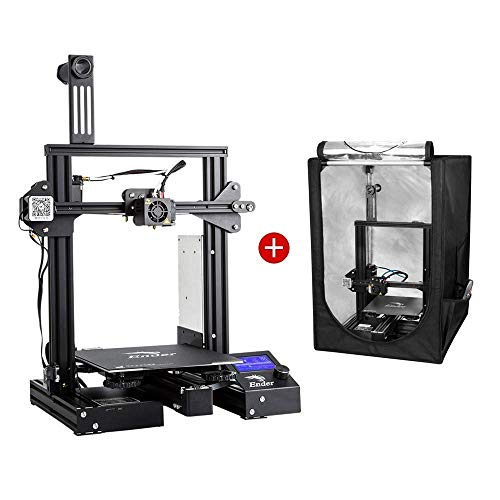 Creality Ender 3 Pro 3D Printer and Creality 3D Printer Enclosure Small Size