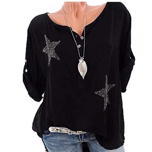 Dressin Women's Casual T Shirts Twist Knot Tunics ()