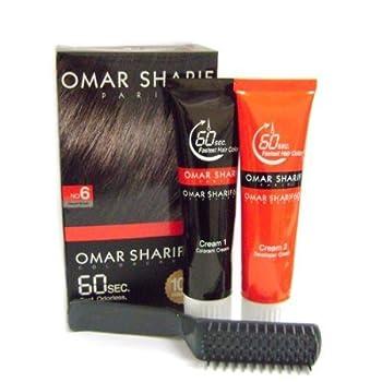 Omar Sharif 60sec Color Cream #6 Natural Brown