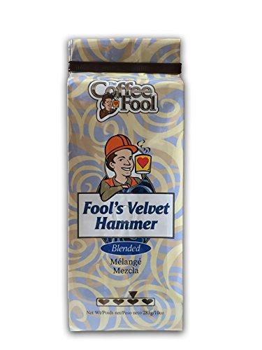 The Coffee Fool Fool's Velvet Hammer Whole Bean Coffee, 10 Ounce