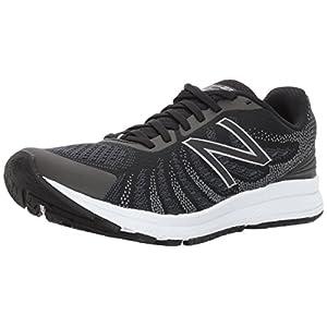 New Balance Women's RUSHV3 Running Shoe, Black/Thunder, 9 D US