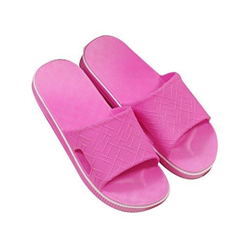 De slip 41 Plastique Maison Red 40 En Intérieur Pantoufles Nouveau En Pink Gros Femme Anti Bain Mâle Pantoufles Pantoufles D'été Pantoufles Maison P181RWYH