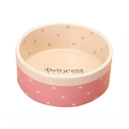 SACRONS-Ceramic Pet Feeding Bowls/Easy to Clean/Thick Material/When Feeding Pets, Tt is not Easy to Move/for Cats and Dogs