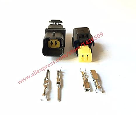 Davitu 5 Set 2 Pin 211PC02280081 211PC022S0049 Female Male FO Turn Light Plug FO Lamp Socket FCI Car Sensor Connector For Auto Truck - - Amazon.com