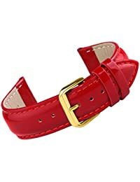 Watch Leather Band 18mm Watch Strap Genuine Leather Premium Deluxe Good