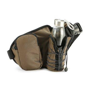 KC-BC07 Running Cycling Waist Water Bottle Carrier Belt Bag Travel Sport Phone Holder - Drinkware & Tea Sets Bottle Bag & Carrier - (Green) - 1 x KC-BC07 Waist Water ()
