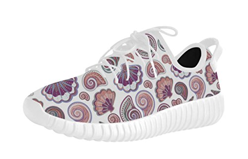 Imprimé Floral Motif Respirant Femmes Chaussures De Course 1