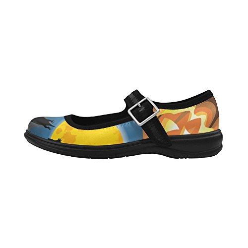 D-histoire Coutume Womens Instep Bouche Profonde Chaussures De Mode Appartements Multicoloured10