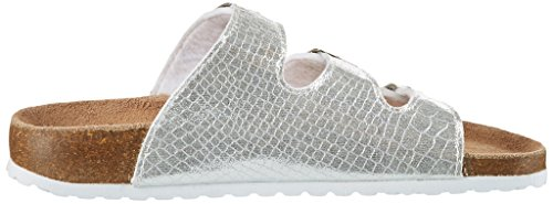 Softwaves 274 522 - Mules Mujer plateado (silver)